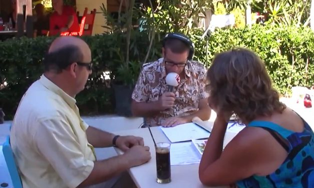 Radio 2 Cappuccino at Villa Mertiza in Mirtos