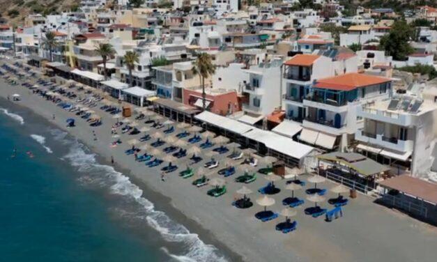 Mirtos Beach, July 2020
