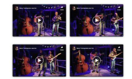 """Sotiris Alexakis Trio at """"Stonoto?"""""""